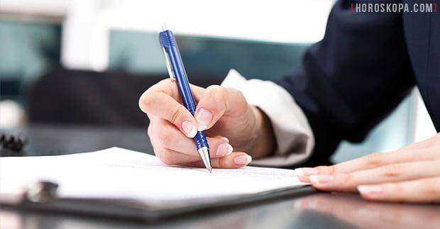 Подходящи дни за сключване на договори и подписване на документи