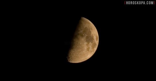 Лунен календар фаза на луната първа четвърт